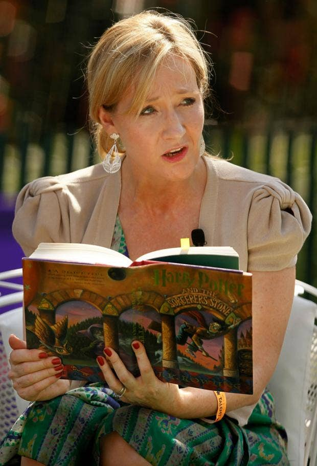 J.K. Rowling launches Harry Potter book club online   The Independent