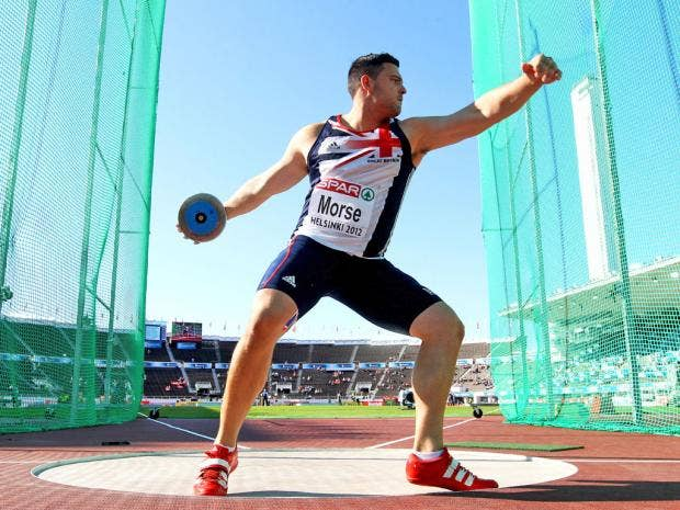 Team GB's discus thrower Brett Morse forgoes fizzy drinks ... Olympic Discus Thrower