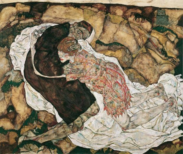תוצאת תמונה עבור ‪egon schiele death and the maiden‬‏
