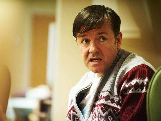 ... care-home worker Derek Noakes in comedy-drama Derek Channel 4