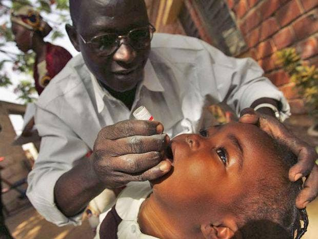 Polio must be eradicated. It's a crippling disease but it ...