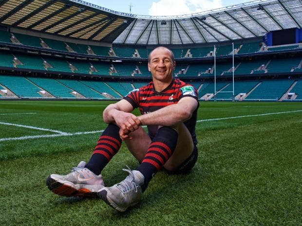Steve Borthwick Interview: Happily Going About His