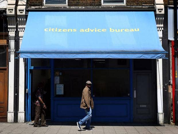 peckham citizens advice bureau at the sharp end where desperate people go for help the