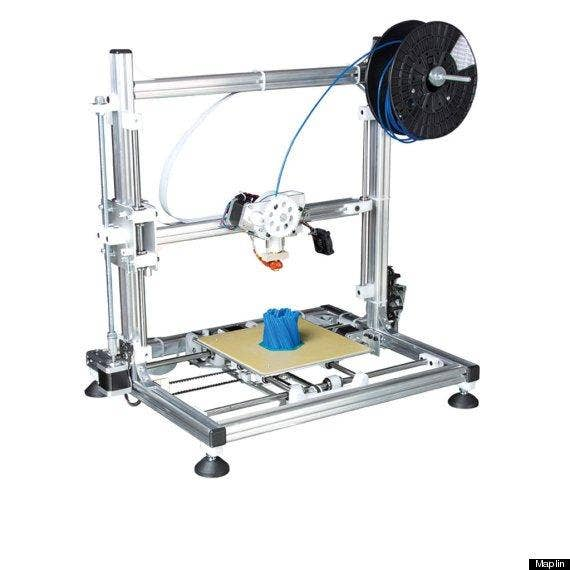 UK's First Commercial 3D Printer On Sale In Maplin For £