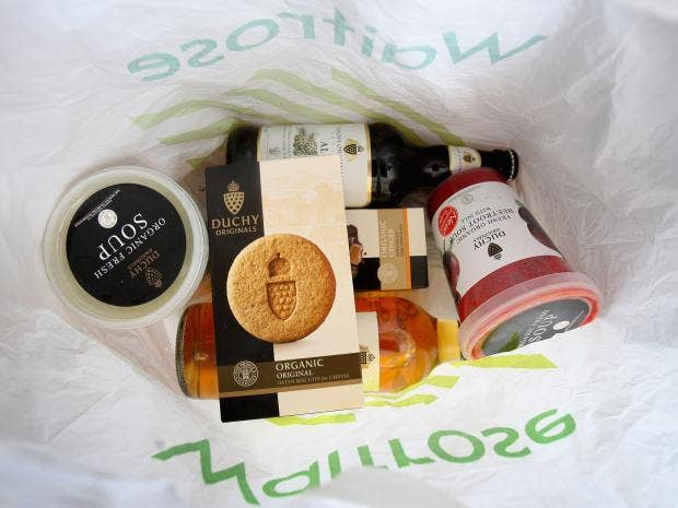 Dear ellenn i steal my neighbours waitrose shopping delivery duchy originals products are placed in a waitrose shopping bag on september 7 2009 in london england getty images solutioingenieria
