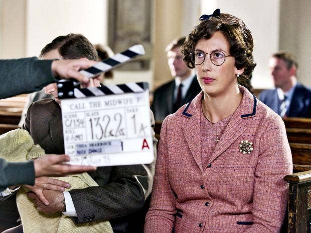 Call the Midwife Christmas special: Behind the scenes with Miranda ...