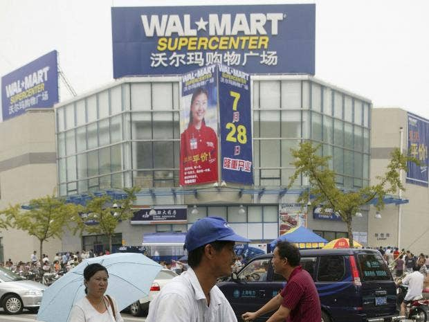 walmart chinese suppliers