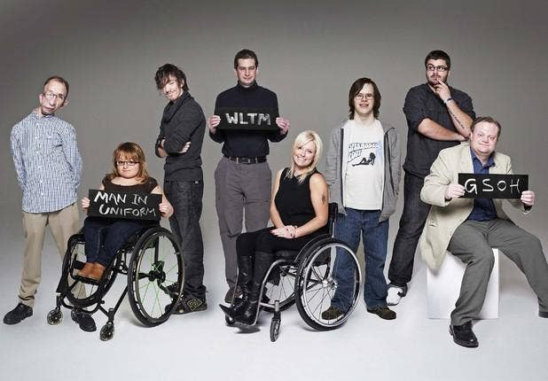 disabled dating show A channel 4 television show that has not even aired yet has sparked outrage - because it appears to brand disabled people as 'undateable' in what has been compared with something akin to a 'victorian freak show', the undateables is a dating series for those with disabilities, which will see case.