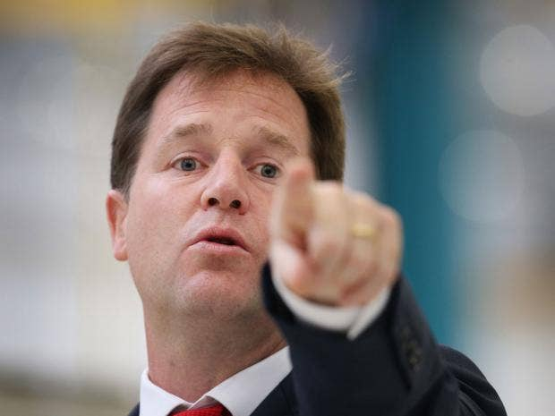 Nick Clegg's attack on NHS mental health care: Fighting ...