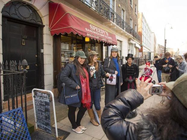 Sherlock's Homes! Fans flock to Bloomsbury address used in ...