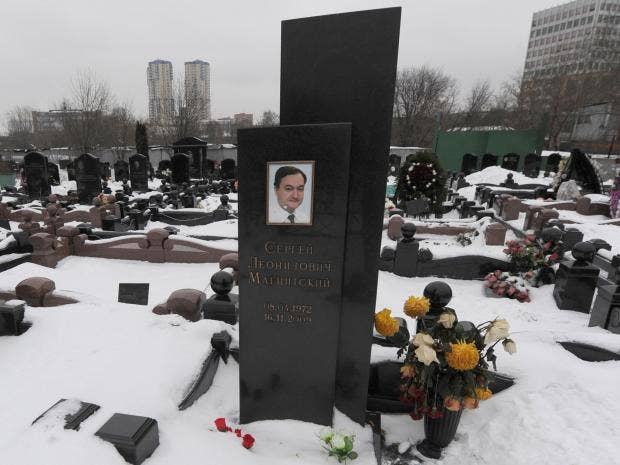 Image result for Images of Russian tax lawyer who died in Russian prison in 2009