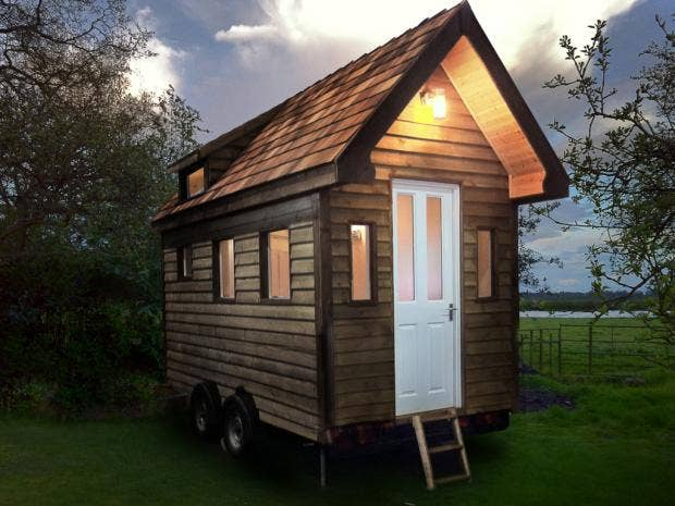 The tiny house movement could you live in a miniature home the independent - Sheds for small spaces property ...