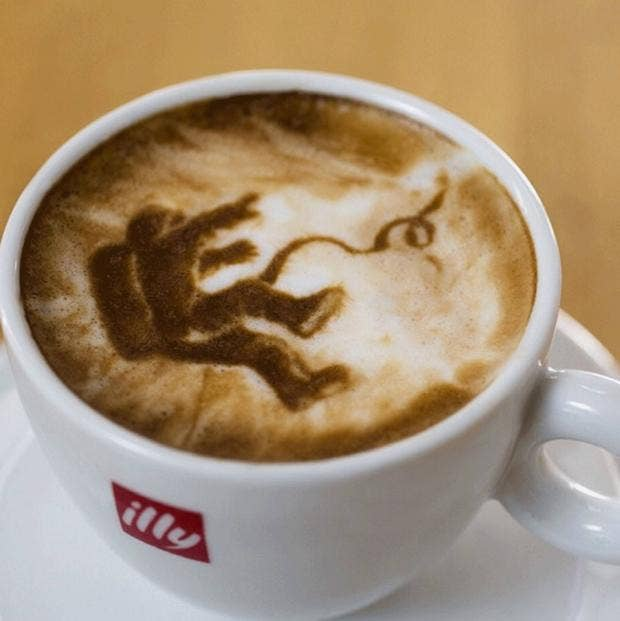 Oscars 2014 Best Picture Nominees In Latte Art Form
