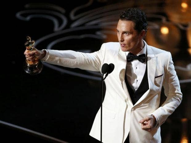 Matthew McConaughey thanks himself in Best Actor Oscars ...