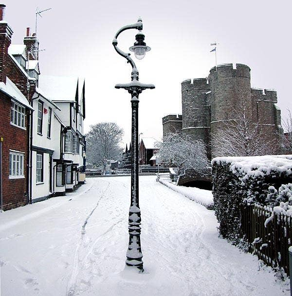 Canterbury Westgate towers in the snow.jpg