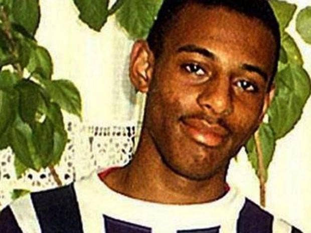 Stephen Lawrence was stabbed to death at a bus stop in south-east London in  1993