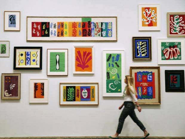 henri matisse the cut outs tate modern art review the independent henrymatisse jpg