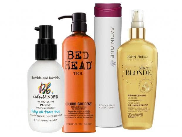 10 best products for colour treated hair the independent youve invested precious pounds into dyeing your hair the perfect shade but a few weeks later bleached blonde highlights are turning brassy or your pmusecretfo Choice Image
