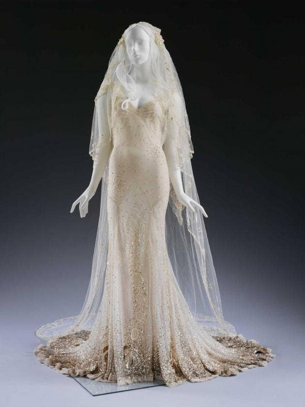Anatomy of a wedding dress: The Great Gatsby by John Galliano for ...