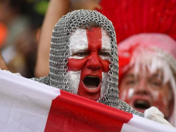 Image result for patriotic england fan