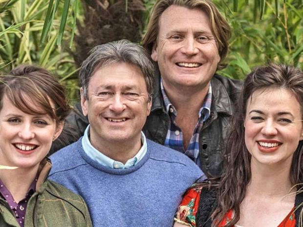Love Your Garden, ITV - TV review: 'Titchmarsh's garden ...