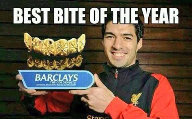 Suarez 4 luis suarez ban upheld the 10 best suarez memes after cas uphold