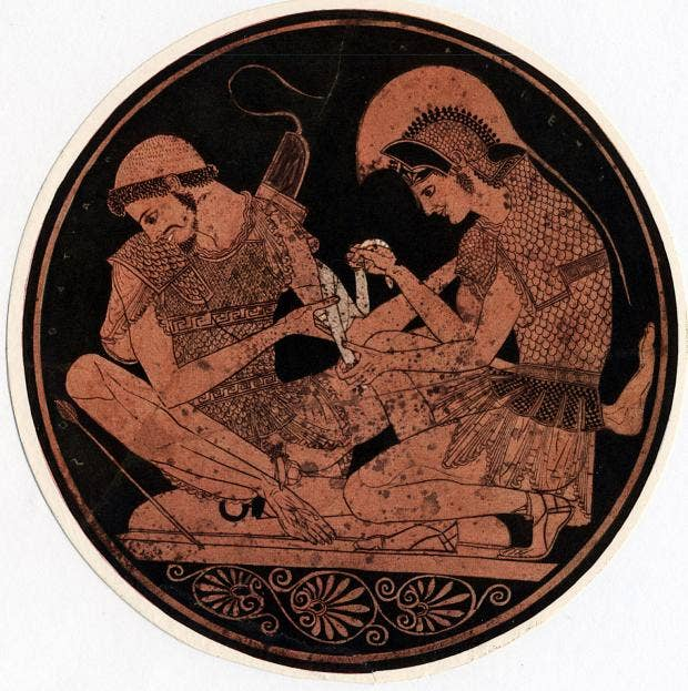 an analysis of the character of achilles in the iliad an epic poem by homer