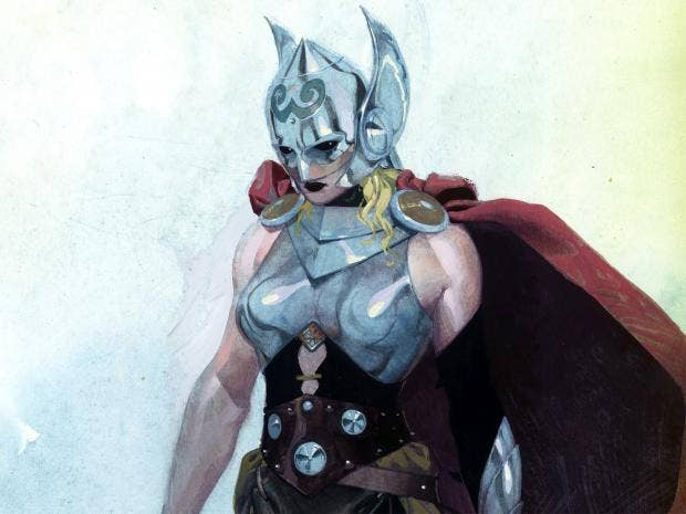 marvel comics have made thor a woman thank odin the independent