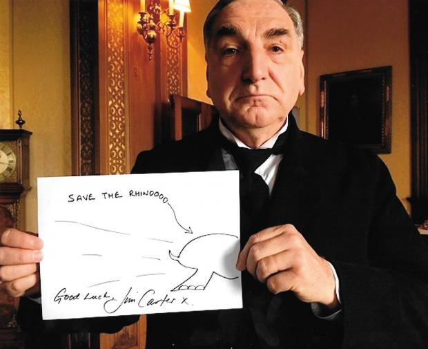0076- Rhino Doodle by Jim Carter (Downton Abbey).jpeg