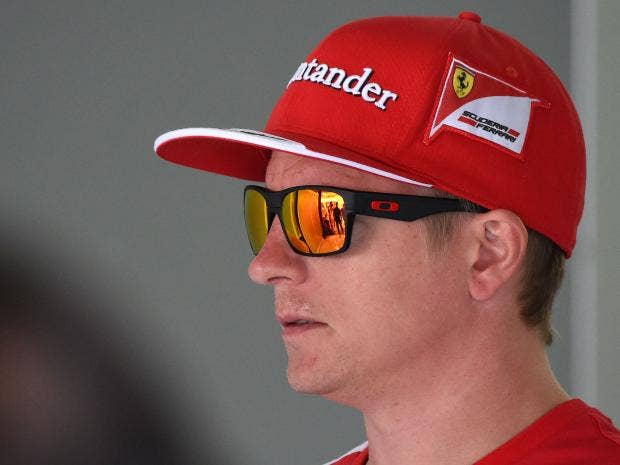 F1 Hungarian Grand Prix: Kimi Raikkonen 'questioned' Ferrari decision not  to go out after early elimination leaves Finn with work to do