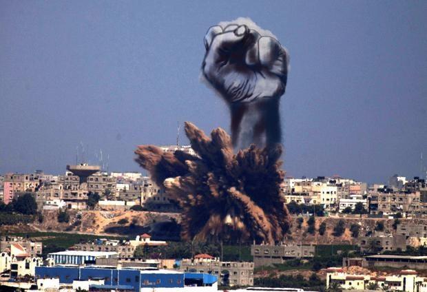 gaza-airstrike-smoke-fist.jpg