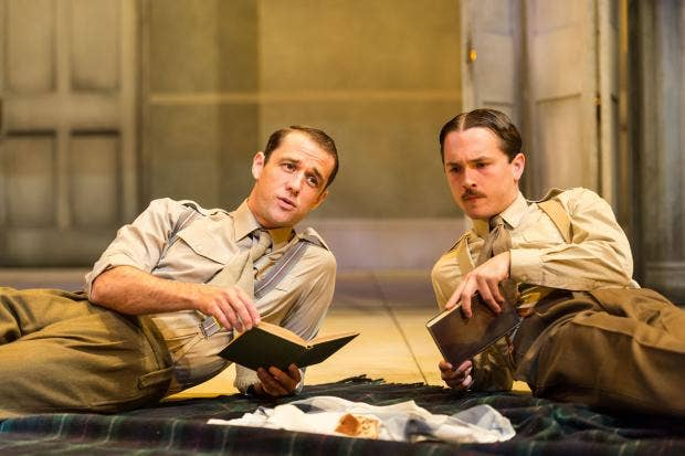 Regen-113-Tim Delap as Sassoon and Garmon Rhys as Owen.jpg