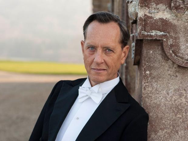Downton Abbey series 5: Richard E Grant makes debut as Simon Bricker tonight