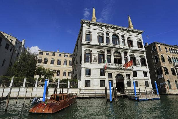 George Clooney and Amal Alamuddin wedding: a look at the Aman Canal Grande  Hotel in Venice