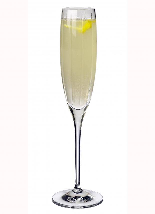 French 75 - An Elegant Champagne Cocktail Recipe — Dishmaps