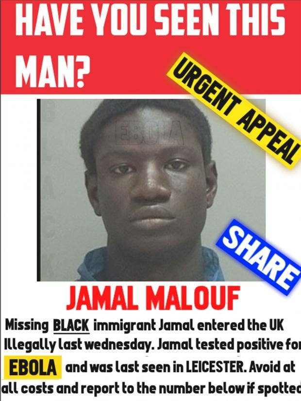 The Bogus U0027urgent Appealu0027 Poster Was Shared By Nationalist Website The  Daily Bale  Missing Person Poster Generator