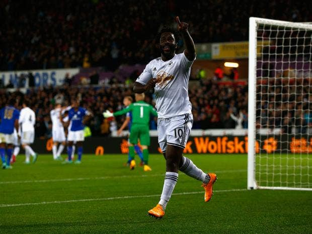 Wilfried-Bony-of-Swansea-City-celebrates-scoring-their-second-goal-during-the-Barclays-Premier-League-match-between-Swansea-City-and-Leicester-City.jpg