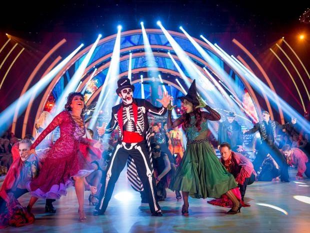 the dancers get their freak on for halloween week bbc - Dancing Halloween