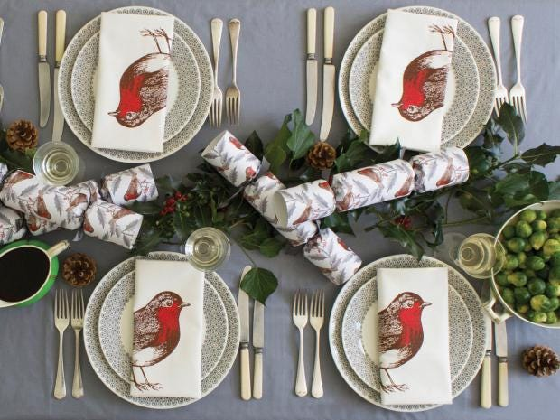10 best christmas table decorations the independent for Decoration noel table