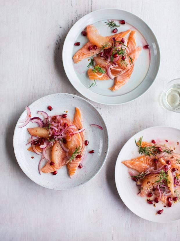 Bill granger recipes our chef creates an italian inspired for Christmas eve food ideas uk