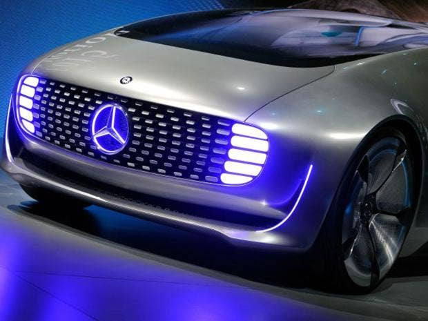 mercedes benz unveil latest self driving car with swivel chairs and touchscreens