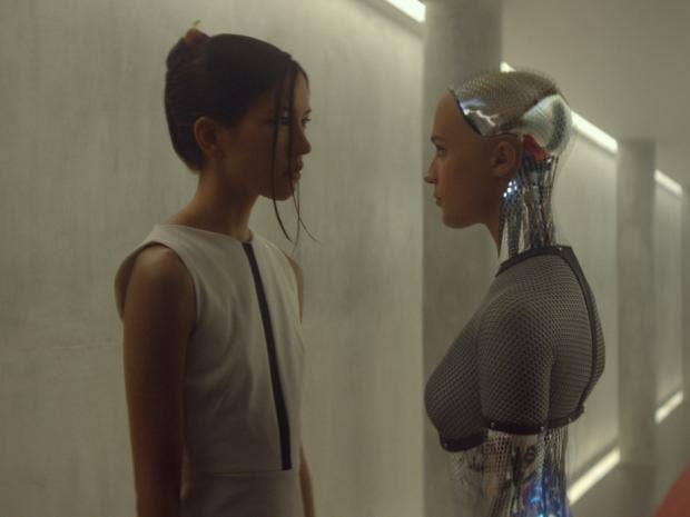 Deus Ex Machina Artificial Intelligence Meets Real: Alex Garland's 'Ex Machina': Is True Artificial