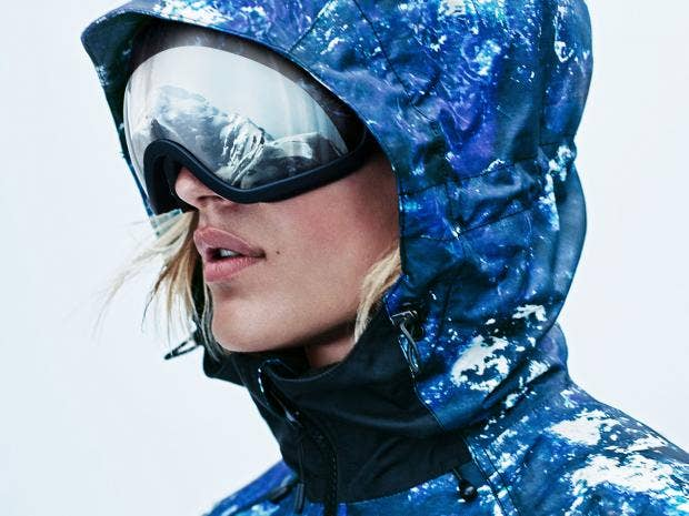 Stylish ski and snowboarding gear: Jackets, goggles and boots
