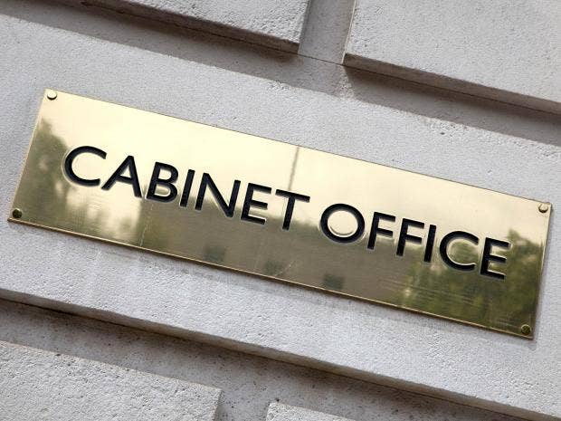 cabinet office has least diverse workforce of all ministerial