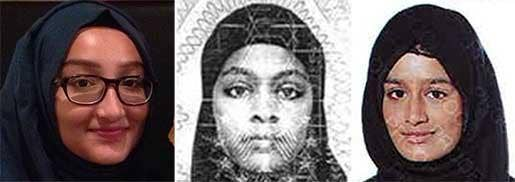 Sharmeena Begum Missing schoolgirls First teenager who fled from east London named