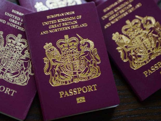 Updating your british passport