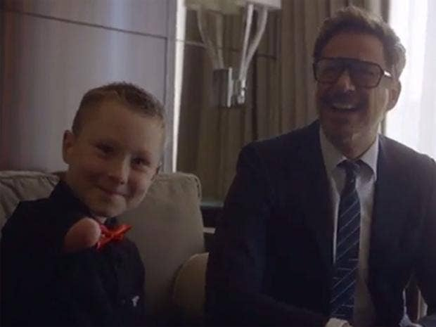 Robert downey jr surprises young disabled boy by giving bionic robert downey jr and albert manero a collectiveproject student who founded limbitless surprised a very alex with a new bionic 3d printed arm fandeluxe PDF