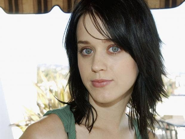 Katy Perry was known as Katy Hudson during her Christian rock days Getty  Images