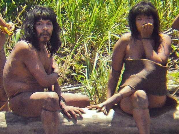 племя индейцев xingu