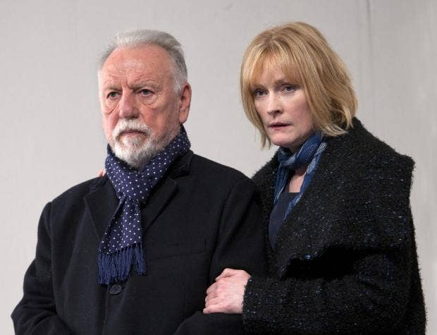 The Father at the Tricycle Theatre. Kenneth Cranham (Andre) and Claire Skinner (Anne). Photo credit Simon Annand (1).jpg